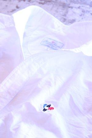画像1: Arvor Maree(アルヴォマレー)SAILOR L/S OXFORD SHIRT WHITE【Men's】