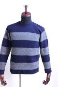 soglia (ソリア)LANDNOAH sweater/エルボーパッチ クルーネックニット/セーター 2color【Men's】