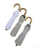 Traditional weather wear(トラディショナルウェザーウェア)FOLDING UMBRELLA BAMBOU 折畳み傘 ストライプ柄 全3色
