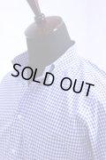 SOUTIENCOL(スティアンコル) Sanfrancisco 2014 THOMAS MASON ギンガムチェック B/D Shirts Lt.Blue【Men's】