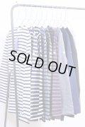 Orcival(オーシバル)cotton lourd #B211 定番バスクシャツ Stripe/solid 10color 2017'A/W 【UNISEX】