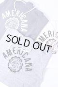 """【別注】Americana(アメリカーナ)HOOD PRINT SWEAT """"AMERICANA 紋章"""" 3color 2018'S/S【Lady's】"""