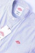 DANTON(ダントン)OXFORD PRAID バンドカラーシャツ #JD-3606 TRD 2020'S/S【Lady's】
