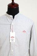 DANTON(ダントン)OXFORD PRAID バンドカラーシャツ #JD-3607 TRD 2020'A/W【Men's】