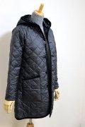 LAVENHAM(ラベンハム)BRUNDON(ブランドン)フード付キルティングロングジャケット 2color【Lady's】