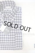 SOUTIENCOL(スティアンコル)RE-MAKE POLO Canclini Cotton/Linen Block Check PULLOVER B/D Shirts【Men's】