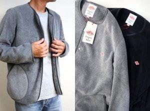 画像1: DANTON(ダントン)FLEECE フリースクルーネックジャケット #JD-8939 2021'A/W 2color【Men's】